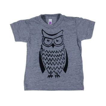 Irritated Owl - Child T-Shirt