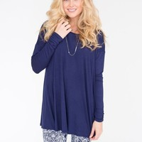 Blue Swing Top