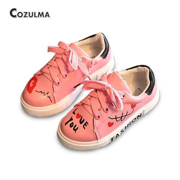 COZULMA Girls Boys Casual Shoes Sneakers 2017 Children Sport Shoes Baby Boys Shoes Kid