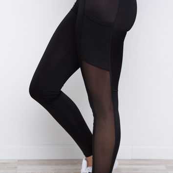 Make A Point Leggings - Black