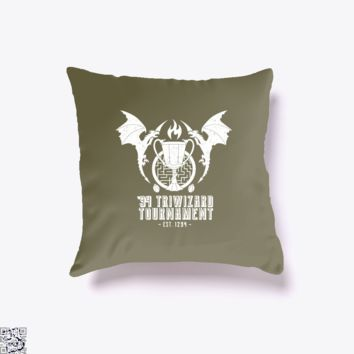 94 Triwizard Tournament, Harry Potter Throw Pillow Cover
