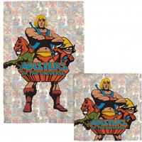 Masters Of The Universe Heroes COMBO Towel - Blankets, Sheets & Towels - Home Décor - Rockabilia