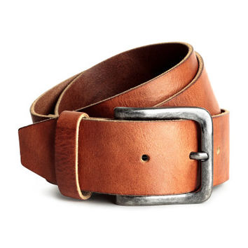 H&M Wide Leather Belt $19.99