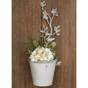 Set of 2 Climbing Vines Wall Planters