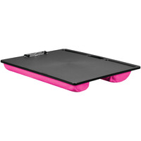 Lapgear Jumbo Student Lapdesk With Clip (pink)
