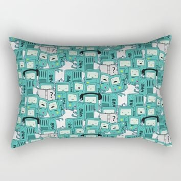 BMO patterns Rectangular Pillow by Berwies