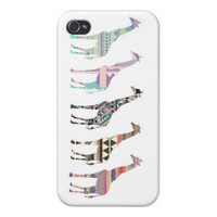 Giraffe Phone Case Covers For iPhone 4 from Zazzle.com