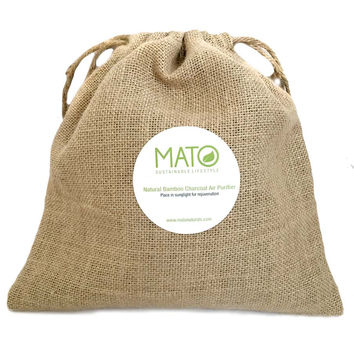 Mato Bamboo Charcoal Natural Air Purifier 500 G