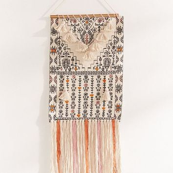 Mini Tassel Wall Hanging | Urban Outfitters