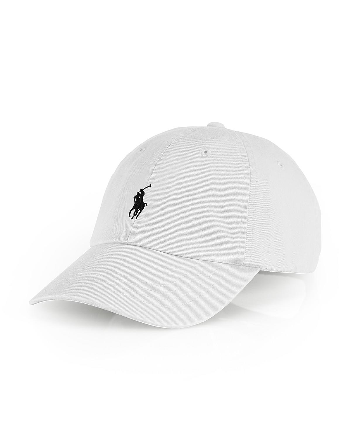 polo ralph lauren signature pony hat from bloomingdale 39 s. Black Bedroom Furniture Sets. Home Design Ideas