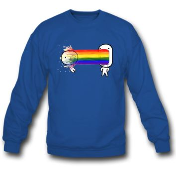 Puke a rainbow SWEATSHIRT CREWNECKS