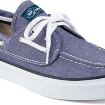 Sperry Top-Sider Seamate 2-Eye Sneaker NavyChambray, Size 10.5M  Men's Shoes