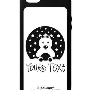 Personalized Matching Polar Bear Family Design - Your Text iPhone 5C Grip Case  by TooLoud