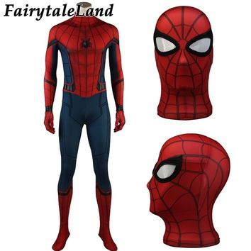 Spider Man Costume Christmas Halloween Spandex Cosplay Jumpsuit Spider Man Cosplay Costume Spider Man Homecoming Costume