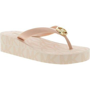 MICHAEL Michael Kors Kids Girl's Gage Bailey (Little Kid/Big Kid) Blush Sandal