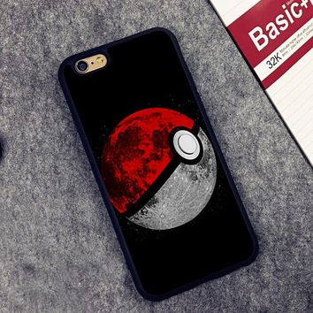 cute Pokemons Eevee Pokeball Soft Silicone Full Protective case Cover For iPhone X 8 7 7Plus 6 6S Plus 5 5S SE