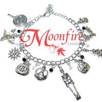 THE NIGHTMARE BEFORE CHRISTMAS Fandom Charm Bracelet