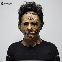 Leatherface Masks Scary Movie Cosplay Halloween Costume Props High Quality Toys