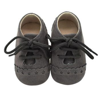 DCK7YE Baby Shoes Nu buck Leather Moccasins Soft Footwear Shoes For Baby Girls Kids Newborns