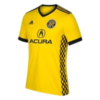 Columbus Crew SC Yellow 2017 Home Men Soccer Jersey Personalized Name and Number