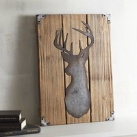 Metal Deer Wall Decor