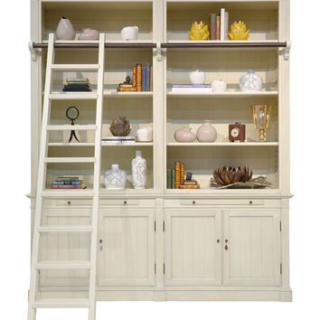 Safavieh Couture Bellingham Library Wall Bookcase - White