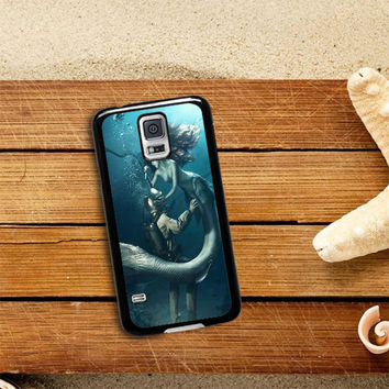 DIVER AND THE MERMAID Samsung Galaxy S5 Case Planetscase.com