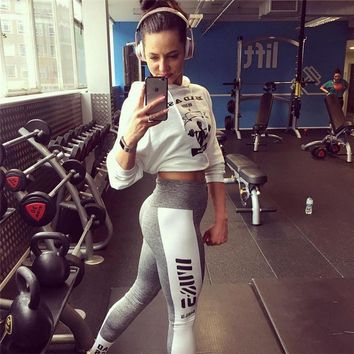 Women's Fashion Summer Hot Sale Print Yoga Gym Leggings [1331231162484]