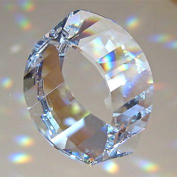 Swarovski Crystal Energy Gate View Prism Ornament Suncatcher, 38mm logo