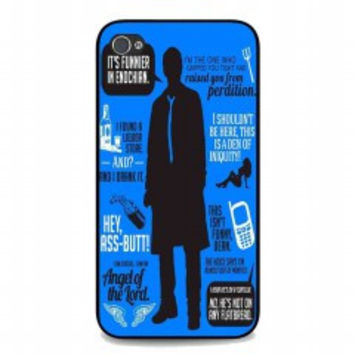 Cas Quotes Supernatural for iphone 4 and 4s case