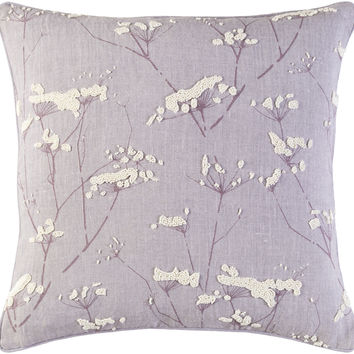 Surya Enchanted Throw Pillow Purple, Neutral