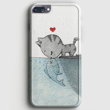 Cat Cheshire WeRe All Mad Here iPhone 7 Plus Case