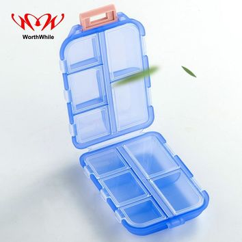 WorthWhile 7 Days First Aid Kits Pill Box WaterProof Medical Drug Cases Mini Storage Portable Survival Emergency SOS Equipment