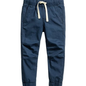 Cotton Pull-on Pants - from H&M