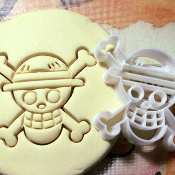 One Piece Anime Cookie Cutter - Made from Biodegradable Material