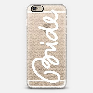 Tulle Bride iPhone 6 case by Emanuela Carratoni | Casetify