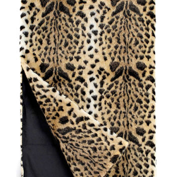 Leopard Signature Series Faux Fur Throw by Fabulous Furs