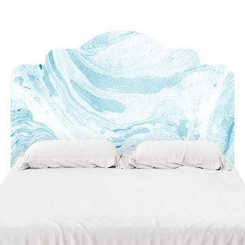 Water Marble Headboard Decal