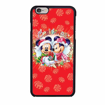 mickey and minnie mouse disney christmas iphone 6 6s 4 4s 5 5s 6 plus cases