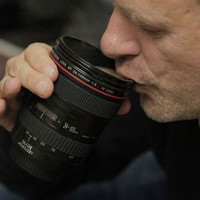 Zoom Lens Coffee Cup ? Funny, Bizarre, Amazing Pictures  Videos