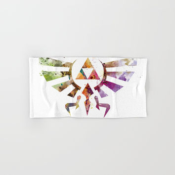 Zelda Hand & Bath Towel by monnprint