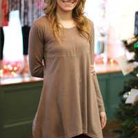 Pretty Angel Tunic {Mocha}