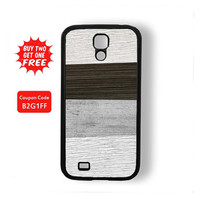 Men Style Retro Wood Stripes Samsung Galaxy S4 / Galaxy S3 / Note 3 / Note 2 / Galaxy S2 I9100 Rubber Case and Hard Cover