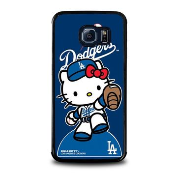 HELLO KITTY LA DODGERS Samsung Galaxy S6 Edge Case Cover