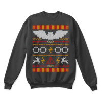 QIYIF Expecto Patronum Harry Potter Ugly Sweater