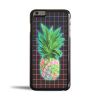 Electric Grid Tie Dye Pineapple Case for Apple iPhone 6 Plus