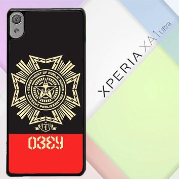 Obey Clothing O0726 Sony Xperia XA1 Ultra Case