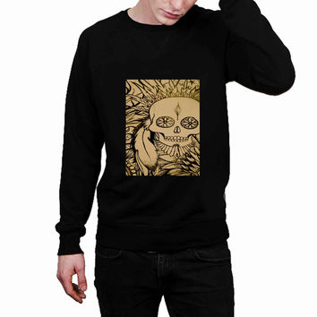 Skull native american indian ba52b8a0-d46f-4d06-8384-409e7744d912 - Sweater for Man and Woman, S / M / L / XL / 2XL *02*