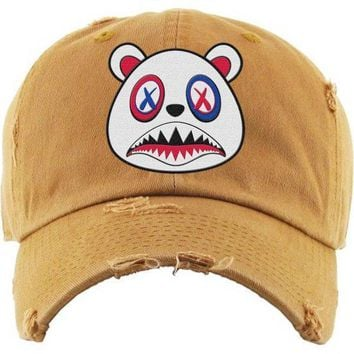 USA Baws Wheat Dad Hat