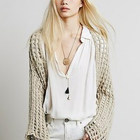 Free People Womens Trinity Shrug Sweater